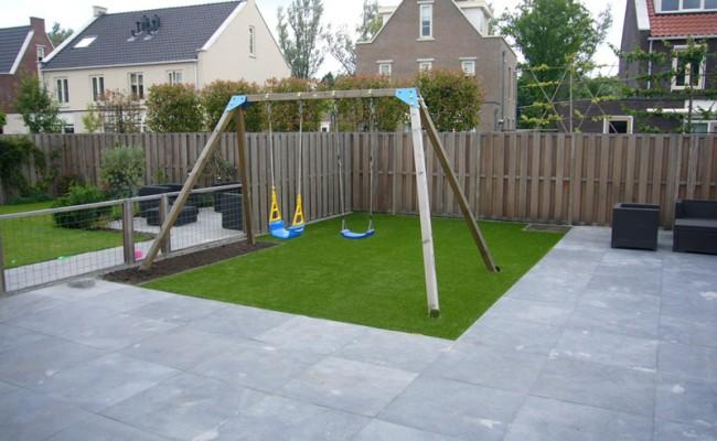 Aanleg kindvriendelijke tuin in De Meern