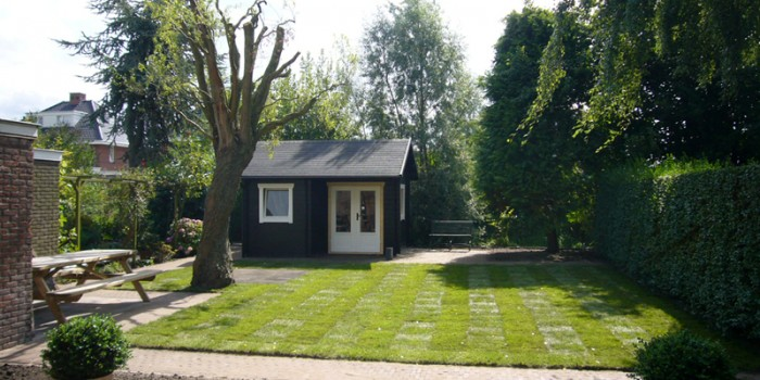 Aanleg achtertuin in Maarssen