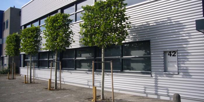 Onderhoud bedrijfsterrein in Utrecht