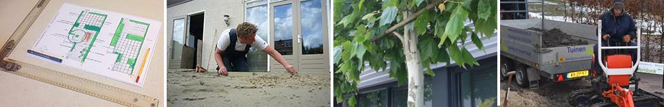 Tuinwerkzaamheden van hoveniersbedrijf Verdonk Tuinen